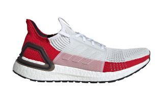 adidas ULTRABOOST 19 WHITE RED EF1341