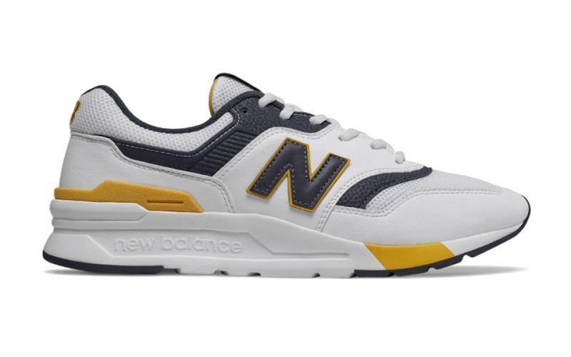 New Balance 997H Weiß Gelb - Großartige Qualität