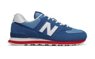 NEW BALANCE ML574 AZUL ROJO ML574ERG