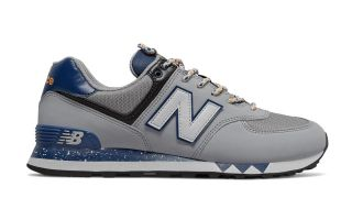 NEW BALANCE ML 574 GRIS AZUL MARINO ML574NFJ