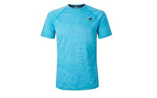 New Balance CAMISETA TENACITY SHORT SLEEVE AZUL