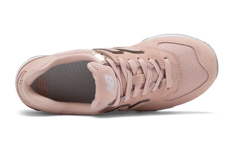 new balance mujer beige rosa 574