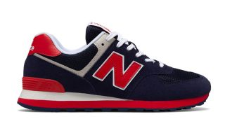 New Balance 574 AZUL ROJO ML574MUA