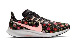 NIKE AIR ZOOM PEGASUS 36 VF NEGRO ROSA NIÑA AT4096 001