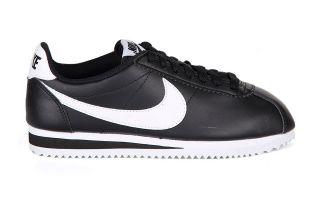 Nike CLASSIC CORTEZ NOIRE BLANCHE FEMME 807471 010