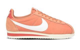 Nike CLASSIC CORTEZ NYLON ROSE BLANC FEMME 749864 611