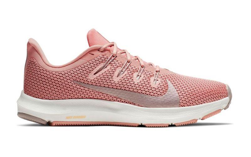 Nike Quest 2 Rosa bianco donna - Massimo comfort