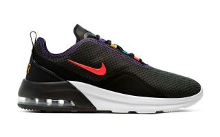 NIKE AIR MAX MOTION 2 NEGRO BLANCO AO0266 008