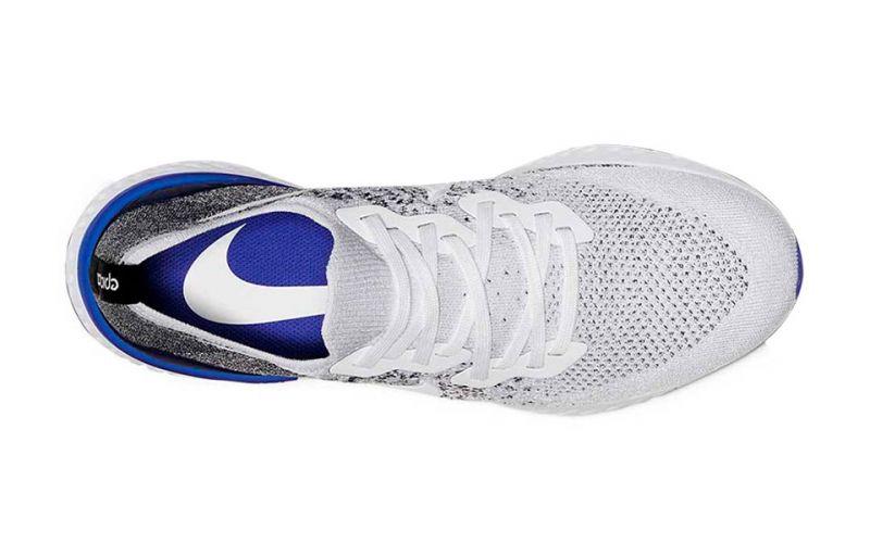 electo Derechos de autor papel  Nike Epic React Flyknit 2 Blanco Gris - Explosivas zapatillas