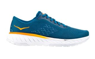 HOKA CAVU 2 BLUE YELLOW