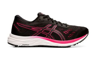 ASICS GEL EXCITE 6 NEGRO VIOLETA MUJER 1012A150 003