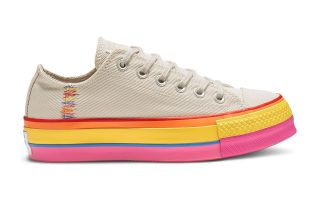 CONVERSE CHUCK TAYLOR ALL STAR LIFT BIANCO DONNA