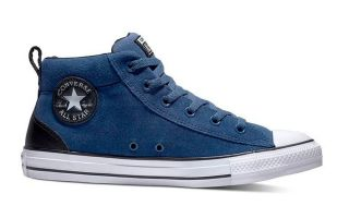 Converse CHUCK TAYLOR ALL STAR STREET MID BLUE BLACK 161468C
