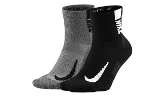 Nike CALCETINES MULTIPLIER ANKLE 2 PARES MULTICOLOR