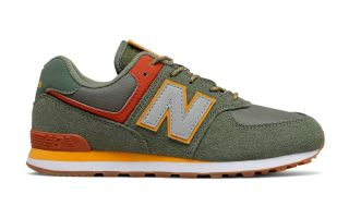 New Balance CLASSIC 574 VERDE PISTACHE JUNIOR GC574PAD
