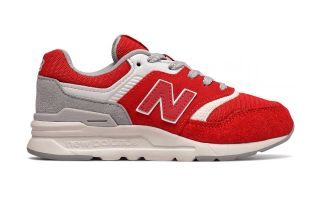 New Balance 997H ROJO GRIS JUNIOR GR997HDS