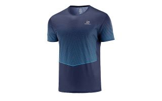 Salomon CAMISETA MC SENSE AZUL MARINO