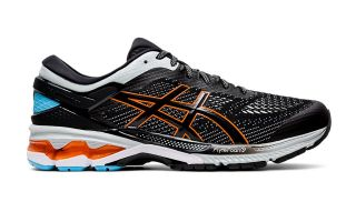 Asics GEL KAYANO 26 SCHWARZ ORANGE 1011A541-004