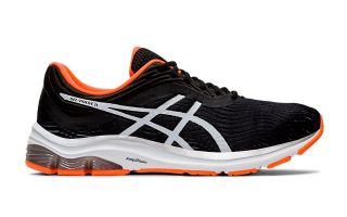 Asics GEL PULSE 11 SCHWARZ ORANGE 1011A550-003