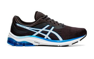Asics GEL PULSE 11 BLACK BLUE WHITE