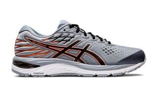 Asics GEL CUMULUS 21 GRIS ORANGE 1011A551-022