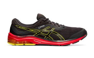 <center><b>Asics</b><br > <em>GEL PULSE 11 GORETEX NOIR ROUGE 1011A569-020</em>