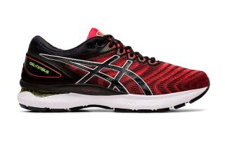 Asics GEL-NIMBUS 22 RED BLACK