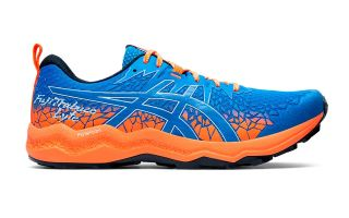 Asics FUJITRABUCO LYTE ORANGE BLUE