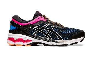 Asics GEL-KAYANO 26 SCHWARZ MULTICOLOR DAMEN 1012A457-004