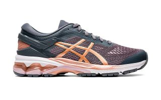 Asics GEL-KAYANO 26 GRAU GOLD DAMEN 1012A457-022