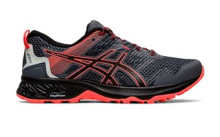 Asics SONOMA GEL 5 BLACK RED WOMAN