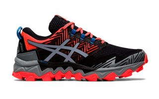 ASICS GEL-FUJITRABUCO 8 BLACK RED WOMAN