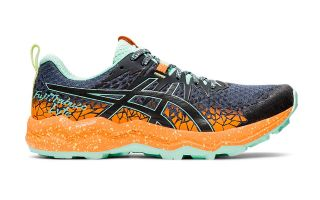Asics FUJITRABUCO LYTE BLACK ORANGE WOMAN