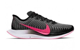 Nike ZOOM PEGASUS TURBO 2 NEGRO FUCSIA MUJER  AT2863 007