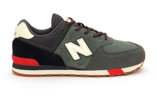 NEW BALANCE 574 GS VERDE NI�O GC574JHR