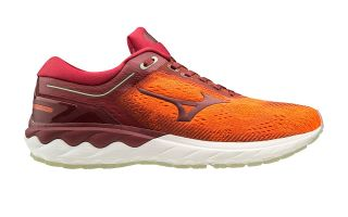 MIZUNO WAVE SKYRISE ORANGE RED