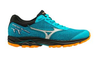 Mizuno WAVE RIDER TT BLUE BLACK WOMAN