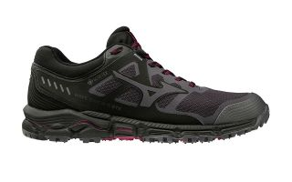 Mizuno WAVE DAICHI 5 GTX BLACK GREY WOMAN
