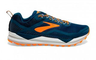 Brooks CASCADIA 14 BLEU ORANGE 1103101D489