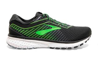 Brooks GHOST 12 BLACK GREEN
