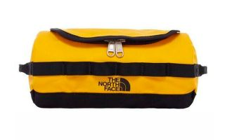 The North Face NECESER TRAVEL AMARILLO NEGRO