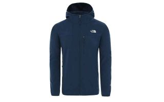 The North Face SUDADERA NIMBLE GRIS AZUL