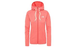 The North Face FELPA MEZZALUNA CORALLO DONNA