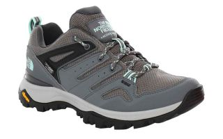 THE NORTH FACE HEDGEHOG FASTPACK II BLUE GREY WOMAN