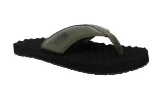 The North Face BASE SANDALS CAMP II GREEN BLACK