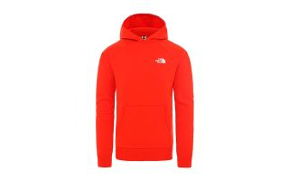 THE NORTH FACE RAGLAN RED SWEATSHIRT