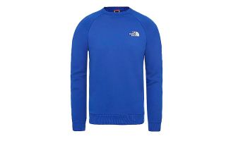 The North Face FELPA RAGLAN REDBOX CREW BLU
