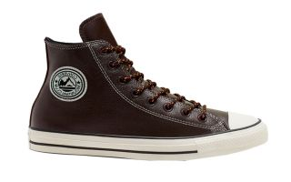 Converse CHUCK TAYLOR ALL STAR HI BROWN ORANGE