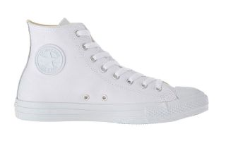 Converse CT ALL STAR LEATHER BIANCO HI 1T406 100
