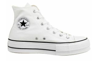 Converse CHUCK TAYLOR ALL STAR LIFT HI WHITE WOMAN
